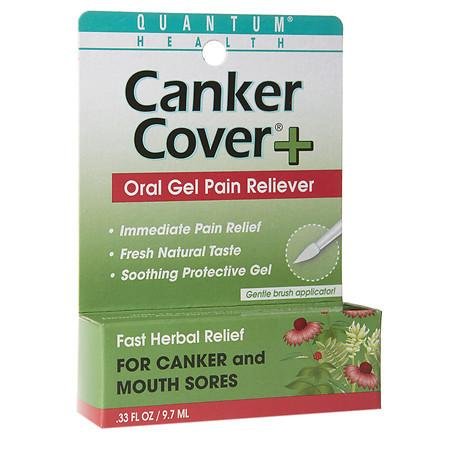 Quantum Health Herbal Canker Care + Oral Pain Reliever - 0.33 oz.