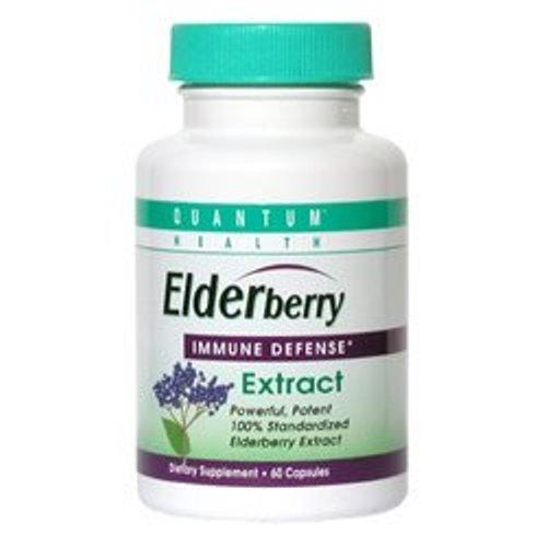 Quantum Health Thera Zinc Lozenges Elderberry 60 Count