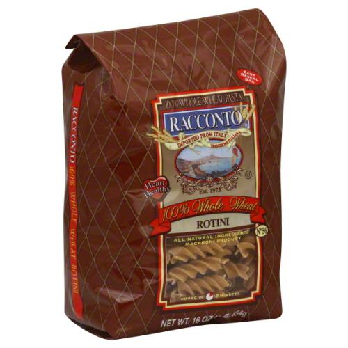 RACCONTO PASTA WHLWHT ROTINI SPRNG-16 OZ -Pack of 12