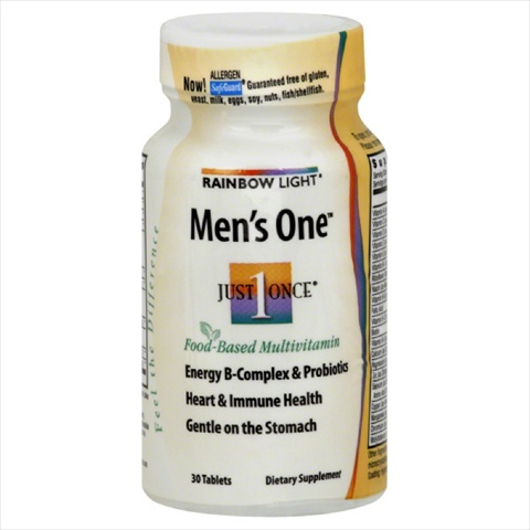 RAINBOW LIGHT MULTIVIT ONE MEN-30 TB -Pack of 1