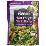 REESE CROUTON HMSTYLE GARLIC BUTTER-5 OZ -Pack of 12