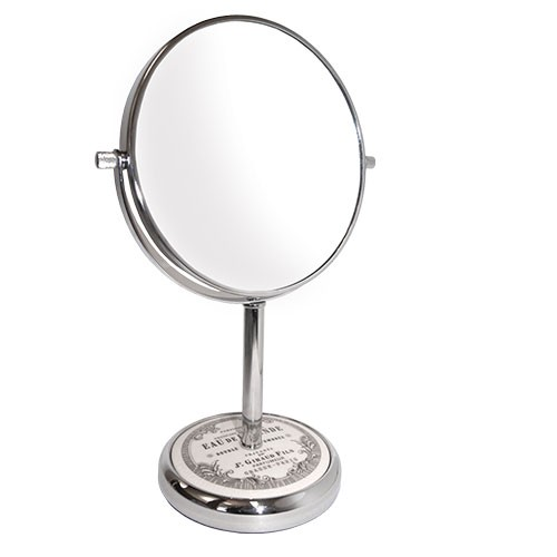 RUCCI M986 7x with Stonedecalba Chrome Stand Mirror