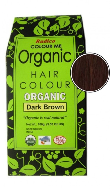 Radico Colour Me Organic Hair Color - Dark Brown