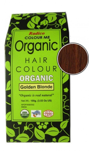Radico Colour Me Organic Hair Color - Golden Blonde
