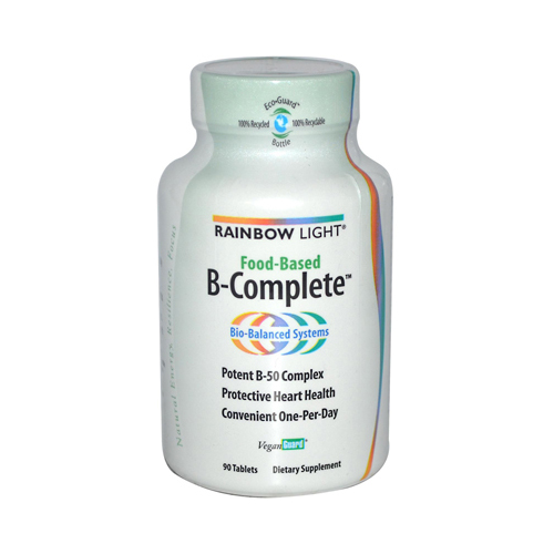 Rainbow Light 958298 Rainbow Light Food-Based B-Complete - 90 Tablets