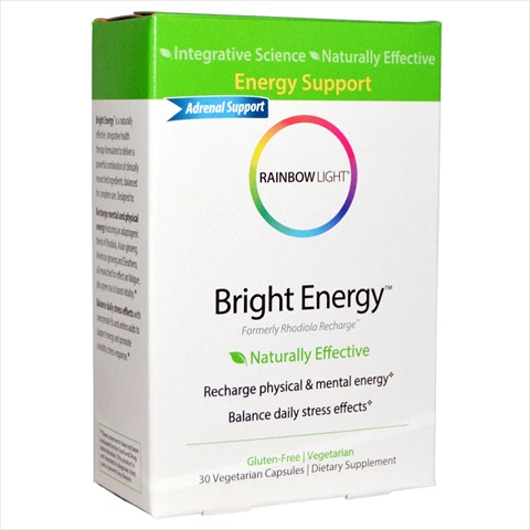 Rainbow Light Bright Energy - 30 Tab