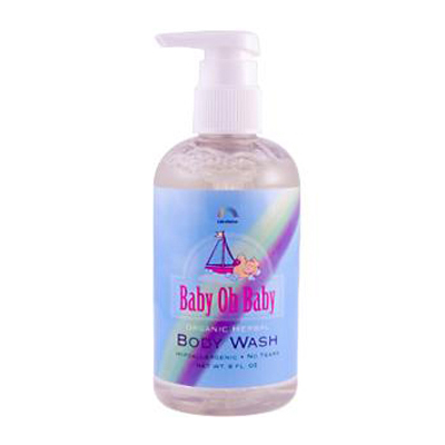 Rainbow Research 0941492 Baby Oh Baby Organic Herbal Body Wash - 8 fl oz