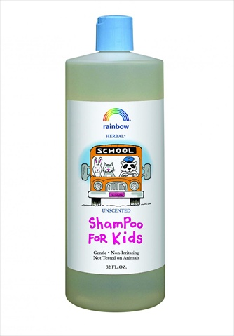 Rainbow Research 32 Ounce Unscented Kids Shampoo