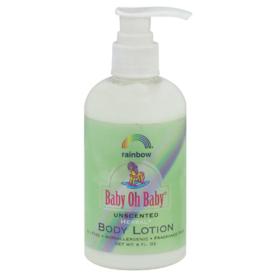 Rainbow Research Baby Oh Baby Body Lotion Unscented - 8 Fl Oz