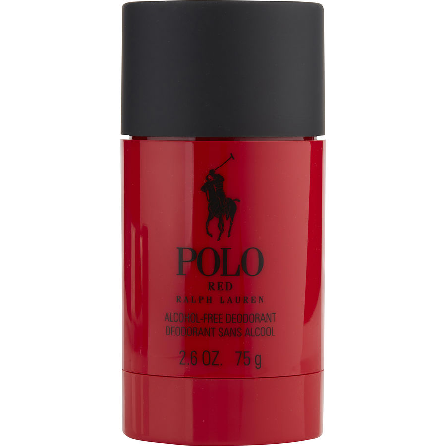 Ralph Lauren 308268 2.6 oz Polo Red Extreme Deodorant Stick Alcohol Free for Men