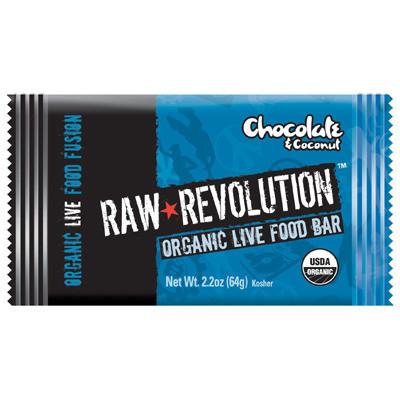 Raw Revolution 1113273 Bar Og2 Coconut Bliss - Case of 12 - 1.8 oz