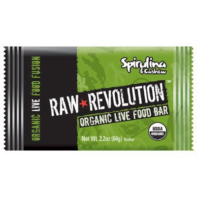 Raw Revolution 1113315 Bar Og2 Spirulina Dream - Case of 12 - 1.8 oz