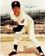 Real Deal Memorabilia HerbScore8x10-2 8 x 10 in. Herb Score Signed - Autographed Cleveland Indians - Deceased 2008