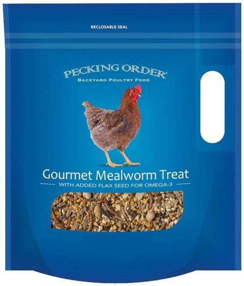 Red River Commodities 9297359 Treat Chicken Mealworm - 3 lbs