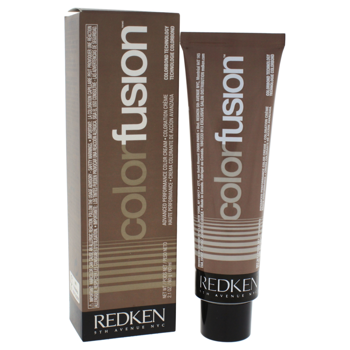 Redken U-HC-11730 2.1 oz Color Fusion Cream Natural Balance No. 9 Hair Color for Unisex Ash & Green