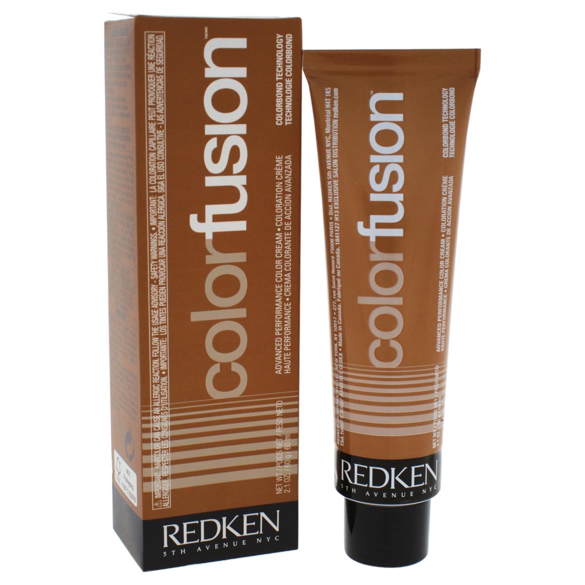 Redken U-HC-11733 2.1 oz Color Fusion Cream No. 3 Natural Fashion Hair Color for Unisex Gold Orange