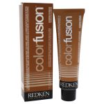 Redken U-HC-11735 2.1 oz Color Fusion Cream No. 4 Natural Fashion Hair Color for Unisex Copper Brown