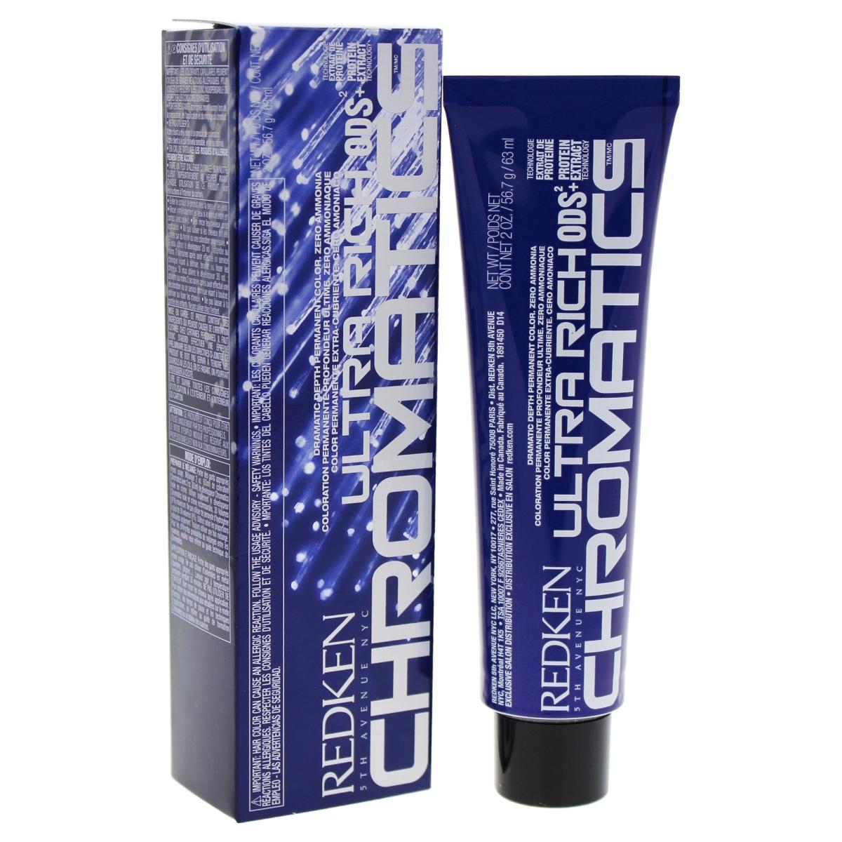 Redken U-HC-11833 2 oz Chromatics Ultra Rich Hair Color for Unisex - 9GI Gold & Iridescent