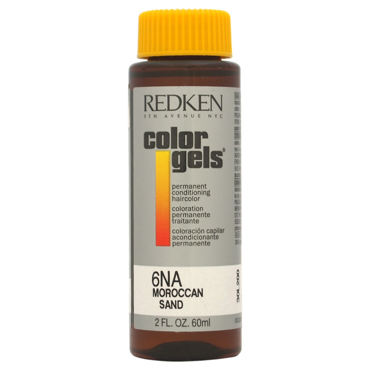 Redken U-HC-8185 2 oz Color Gels Permanent Conditioning Moroccan Sand 6NA Hair Color for Unisex