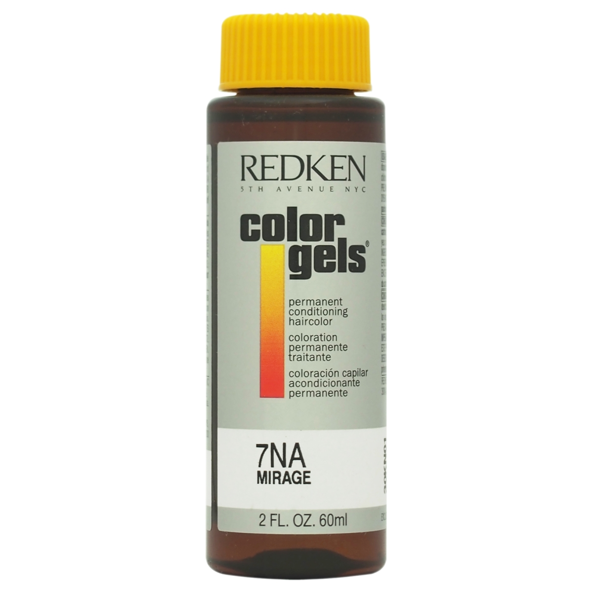 Redken U-HC-8192 2 oz Color Gels Permanent Conditioning 7NA Mirage Hair Color for Unisex