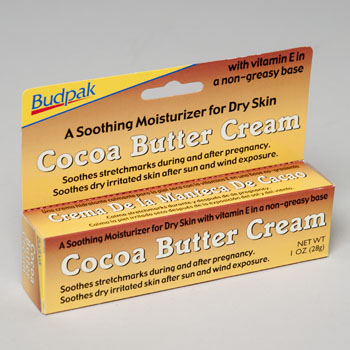 Regent Products 94417 1 oz. Budpak Cocoa Butter Cream - Pack Of 24