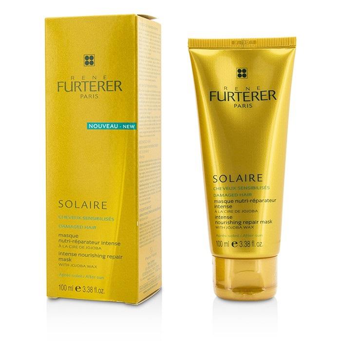 Rene Furterer 204152 Solaire Intense Nourishing Repair Mask with Jojoba Wax for Damaged Hair