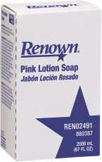 Renown 880387 Renown 2000 Ml Pink Lotion Soap