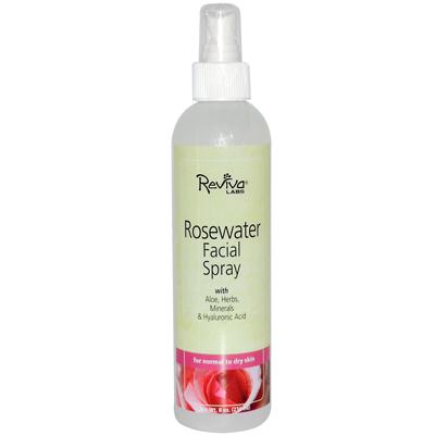 Reviva Labs 0654350 Facial Spray Rosewater - 8 fl oz