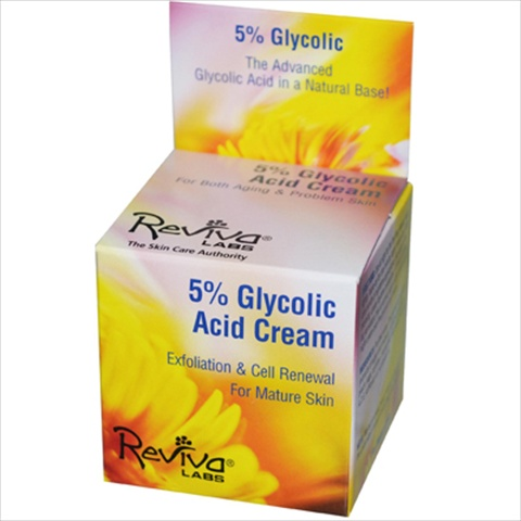Reviva Labs 5% Glycolic Acid Renaissance Cream - 1.5 Oz