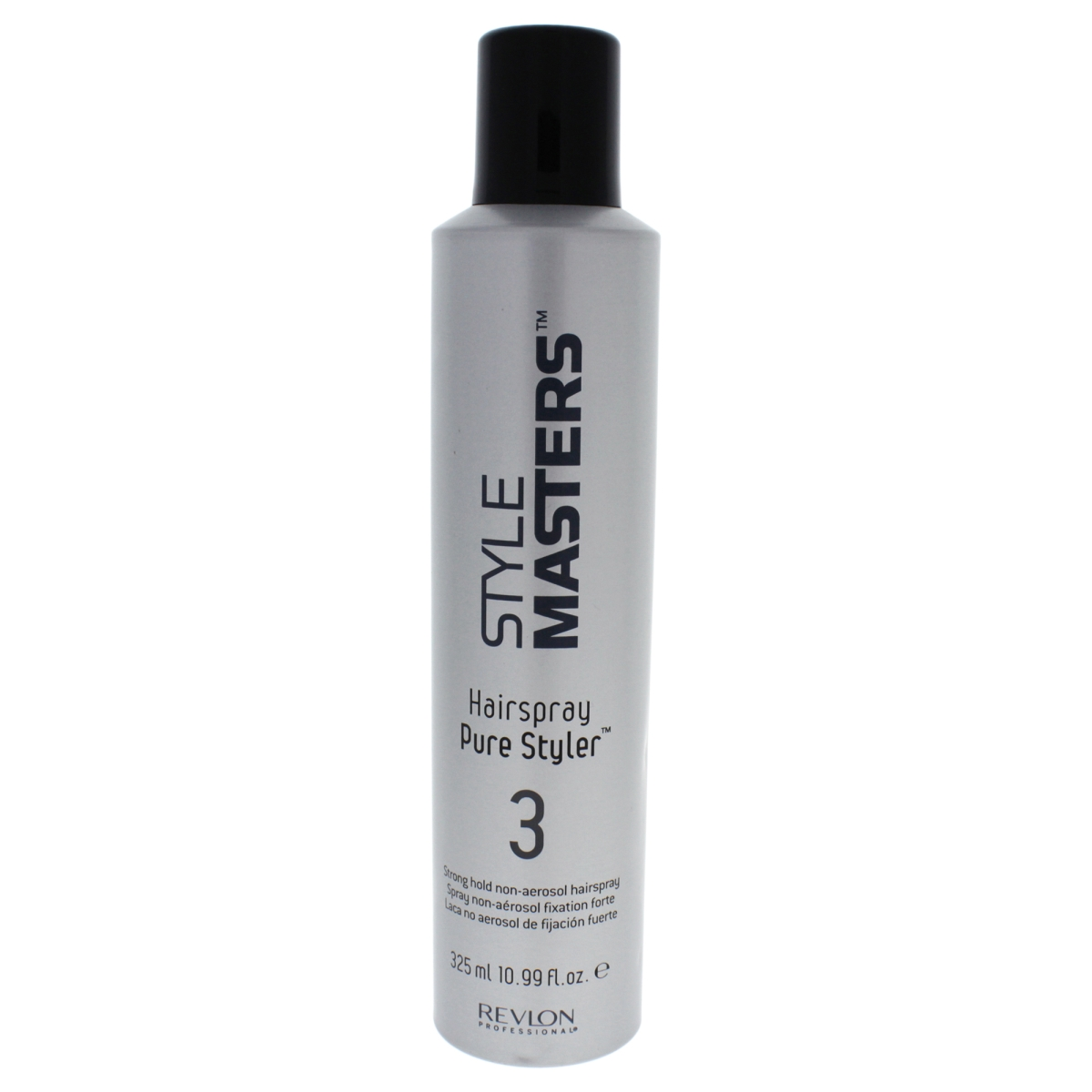 Revlon U-HC-11972 10.99 oz Style Masters Pure Styler No 3 Strong Hold Hair Spray for Unisex