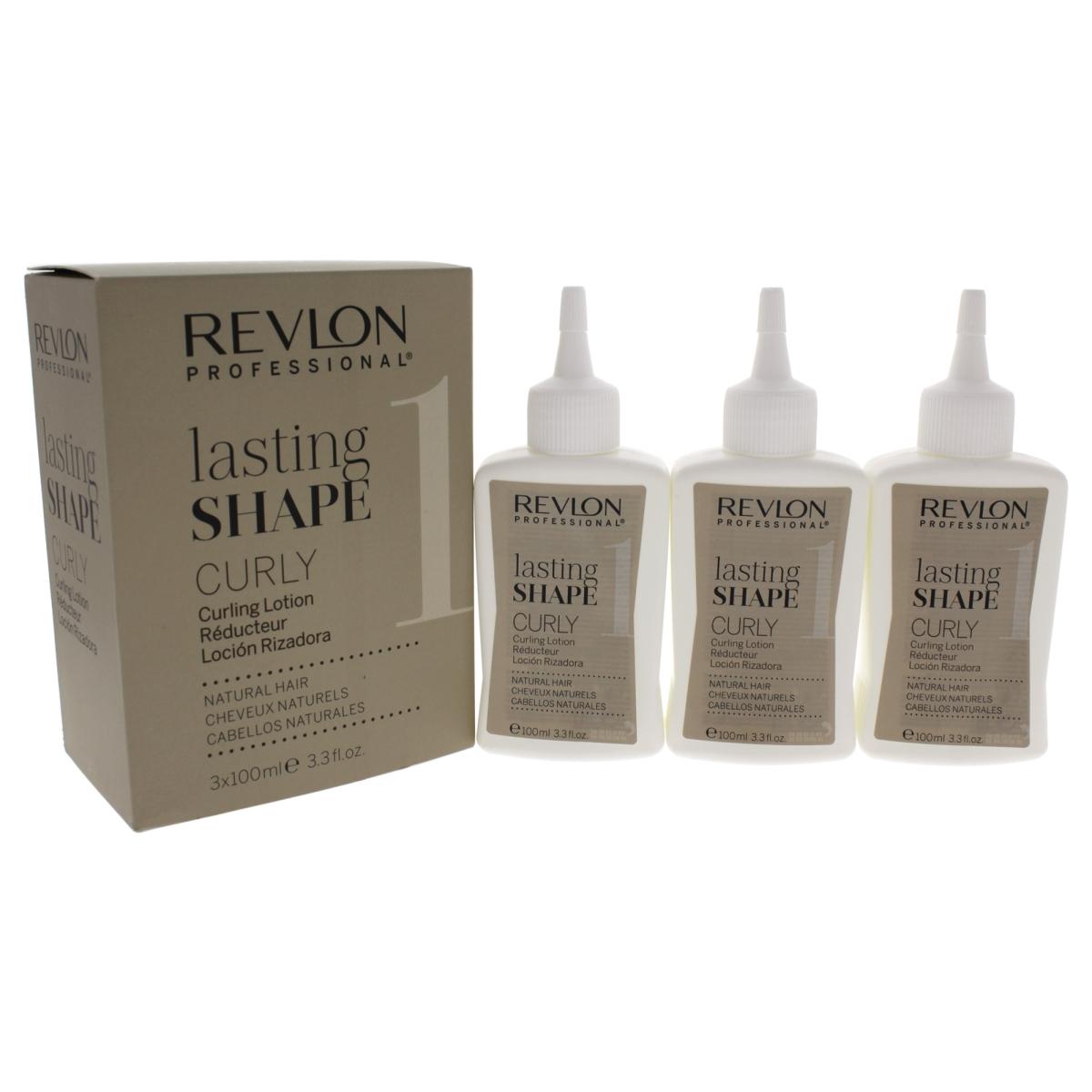Revlon U-HC-11984 3 x 3.3 oz Lasting Shape Curly Natural No. 1 Hair Lotion for Unisex