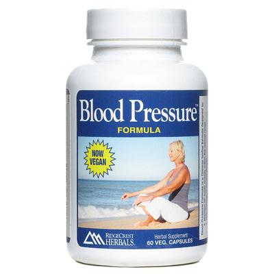 RidgeCrest Herbals Blood Pressure Formula - 60 Vcaps