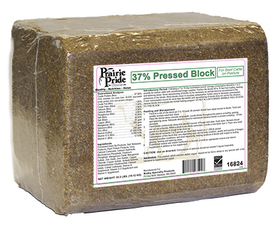 Ridley 16824 Prairie Pride 33 lbs. 37 Percent Range Block
