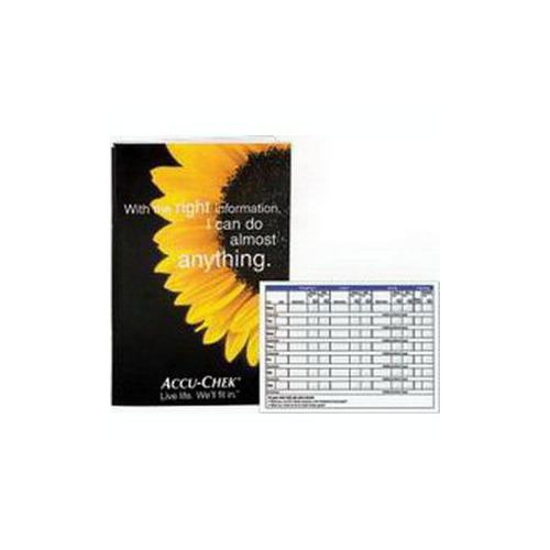 Roche Diagnostics 5900504 Accu-Chek Advantage Self Test Diary