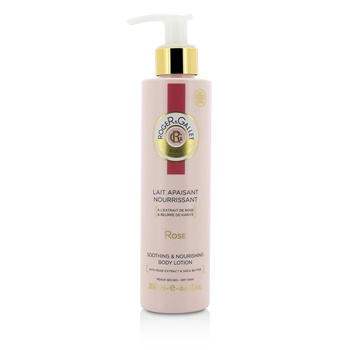 Roger & Gallet 186039 Rose Melt-In Body Lotion with Pump