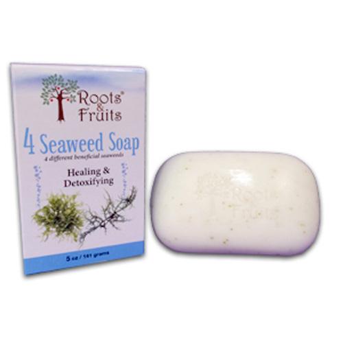 Roots & Fruits 1592732 5 oz 4 Seaweed Bar Soap