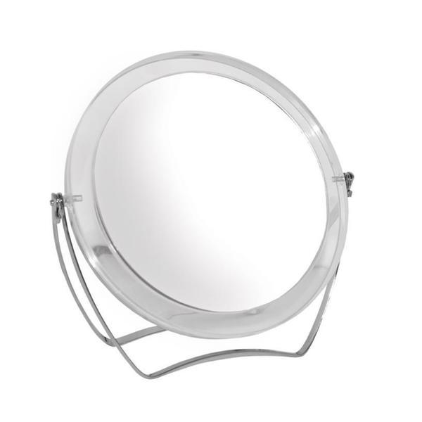 Rucci M976 Round Acrylic 10X Stand Mirror
