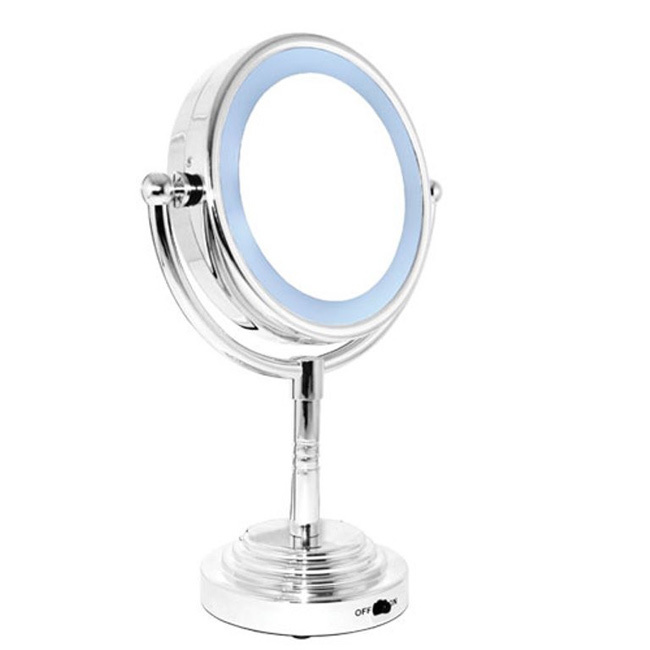 Rucci M978 Magnification Round Double-Sided LED Lighted Mirror