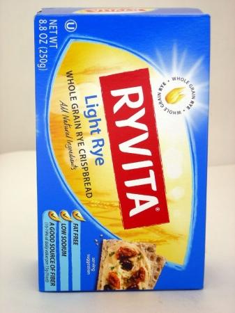 Ryvita Crisp Bread 37282 Tasty Lite Rye Crispbread