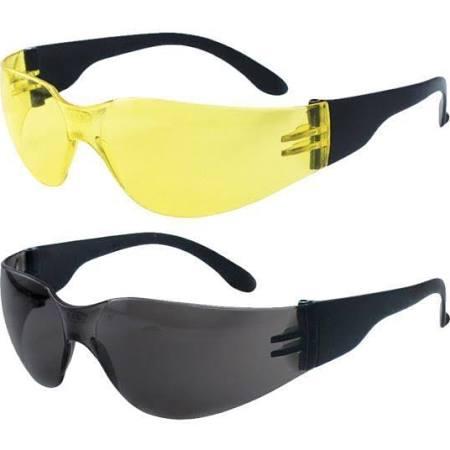 SAS Safety KTSAS984510 NSX Eyewear with Polybag Yellow Lens & Black Temple