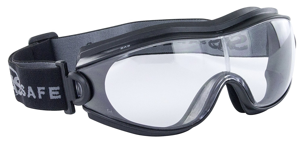 SAS Safety SAS-5104-01 Zion X Safety Goggles Clear Lens
