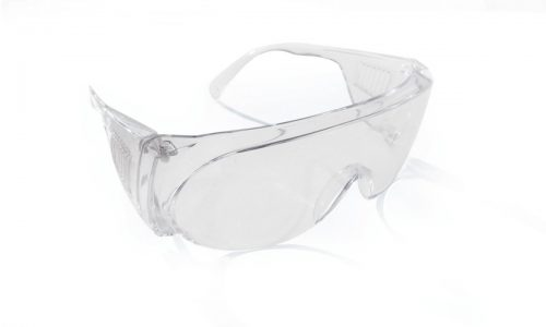 SAS Safety SAS-5210 Visitor Specs Solid Clear Lens Safety Glasses