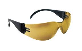 SAS Safety SAS-5344 Safety Glasses - Black Frame