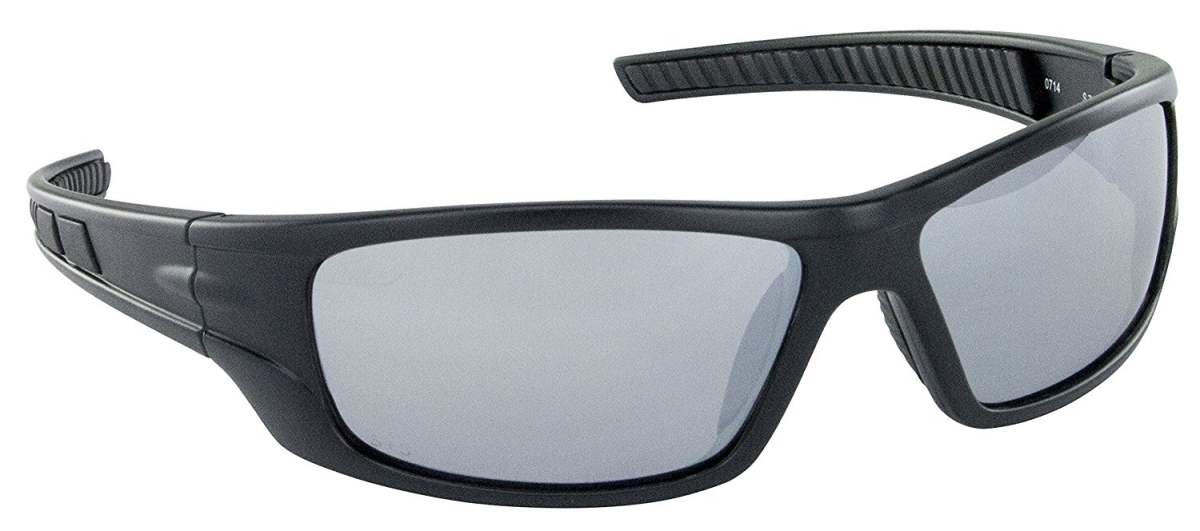 SAS Safety SAS-5510-04 VX9 Safety Glasses with Mirror Lens Black
