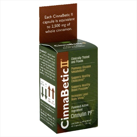 SLICE OF LIFE CINNABETIC II-60 CP -Pack of 1