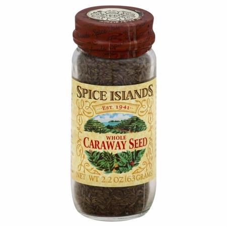 SPICE ISLAND 35343 Caraway Seed Whole - 2.2 oz.