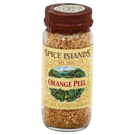 SPICE ISLAND 35347 Orange Peel 1.9 oz.