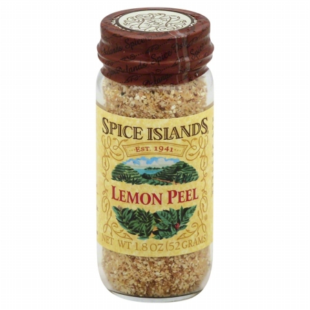 SPICE ISLAND 35365 Lemon Peel - 1.8 oz.