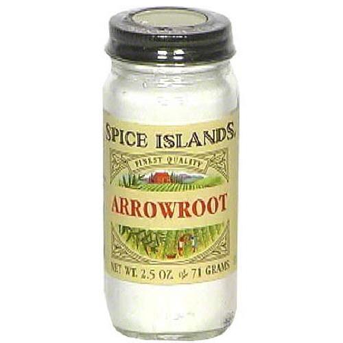 SPICE ISLAND ARROWROOT-2.5 OZ -Pack of 3