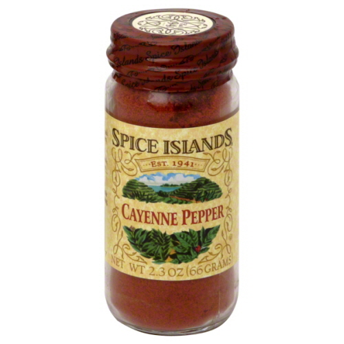 SPICE ISLAND CAYENNE RED PEPPER-2.3 OZ -Pack of 3